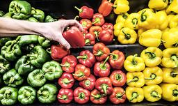 Dyrare grönsaker driver inflationen. Arkivbild.