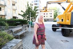 Joanne Posluszny Hoffsten var hemma när hon och hennes man hörde smällen på fredagsmorgonen.