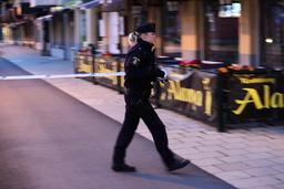 Polisen spärrade av en gata i Linköping efter ett larm om ett misstänkt föremål.