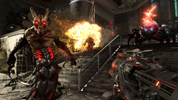 'Doom: Eternal' kommer i november. En del visades upp vid Bethesdas presskonferens. Pressbild.