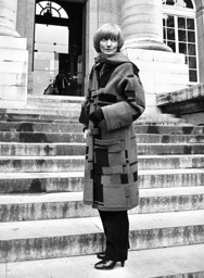 Francoise Sagan 1981, vid 69 års ålder. Arkivbild.