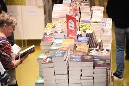 Bokmässan är Sveriges största litteraturevenemang men har inga seminarier om bokbranschens klimatavtryck. Arkivbild.