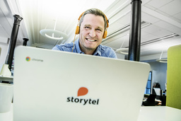 Storytels vd Jonas Tellander. Arkivbild.