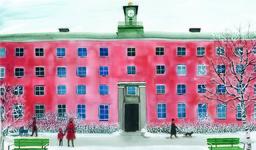 Även om det aldrig skrivs ut är sjukhuset i 'Dyksommar' modellerat efter Beckomberga. Pressbild.