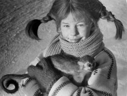 Astrid Lindgrens bokfigur Pippi Långstrump, här gestaltad av Inger Nilsson i de klassiska filmerna av regissören Olle Hellbom, står i fokus på höstens Astrid Lindgren-konferens. Bilden är från 1968.