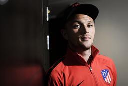 Kieran Trippier, engelsk landslagsback i Atlético Madrid, hyllar Alexander Isak. 'Han är en talang och en som du måste vara beredd på', säger Trippier.